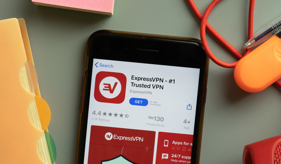 VPN on an Android phone