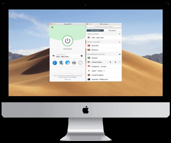 ExpressVPN Mac app