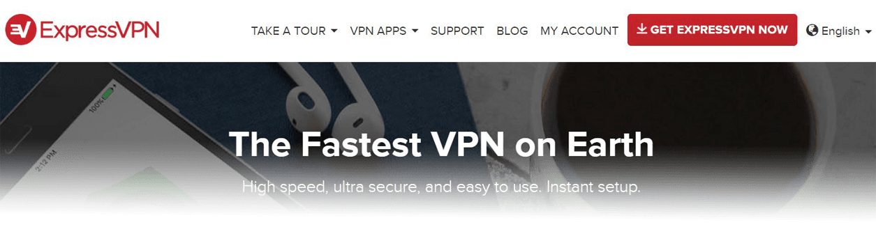 ExpressVPN Website Dec 16