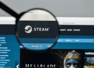 Steam website