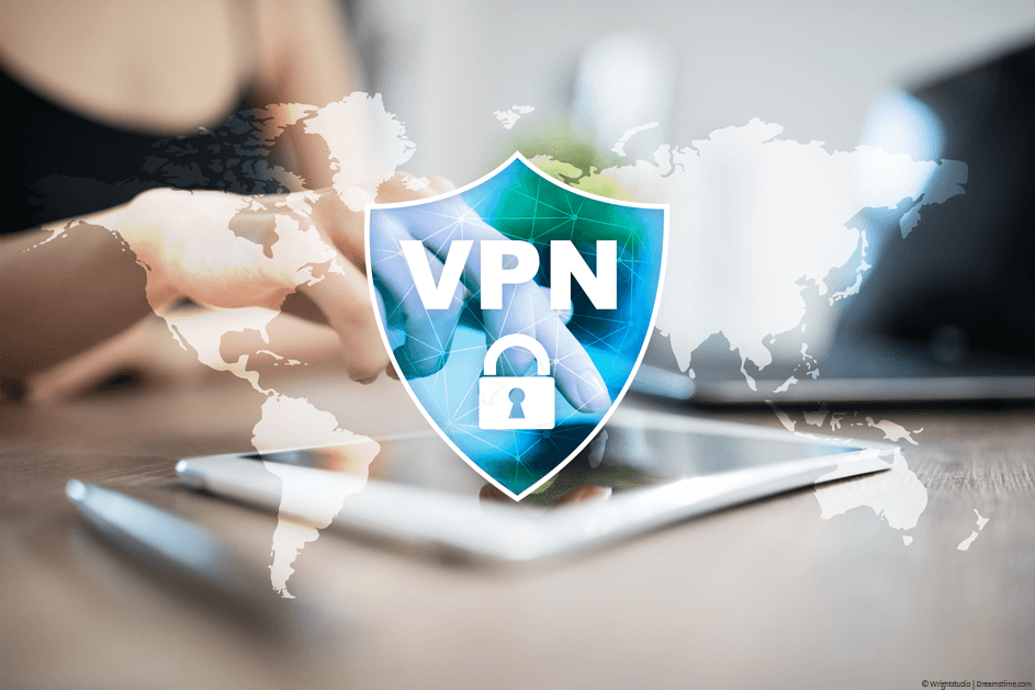 VPN security badge