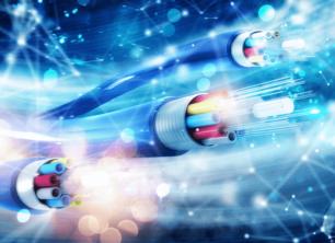 Fiber optic in fast scene