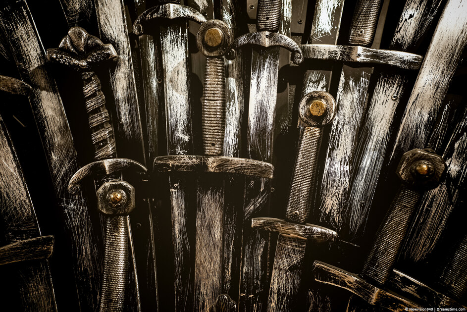 Game of Thrones style swords
