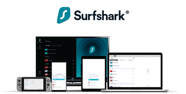 Surfshark devices