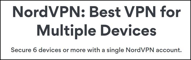 NordVPN device limit
